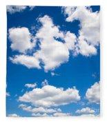 Up In The Sky Fleece Blanket