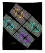 Urban Space Fleece Blanket