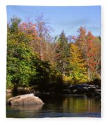 Usa, New York, Adirondack State Park Fleece Blanket