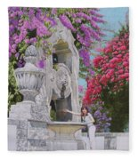 Vacation In Portugal Fleece Blanket
