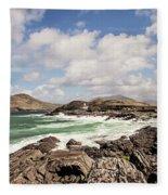 Valentia Island Lighthouse Fleece Blanket