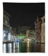 Romantic Venice  Fleece Blanket