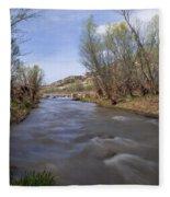 Verde River Fleece Blanket