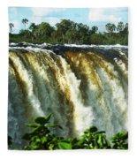 Victoria Falls Fleece Blanket