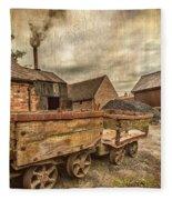 Victorian Colliery Fleece Blanket
