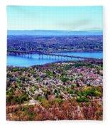 View From The Top Fleece Blanket