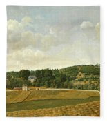 View Of Chatenay Fleece Blanket