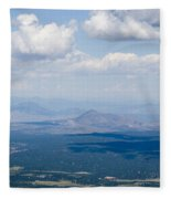 Views From The Pikes Peak Highway Fleece Blanket