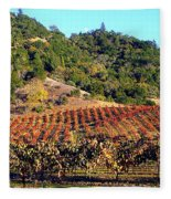 Vineyard 3 Fleece Blanket