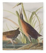 Virginia Rail Fleece Blanket