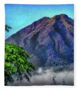 Volcan De Agua, Antigua Guatemala I Fleece Blanket