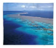 Wakaya Island Aerial Fleece Blanket
