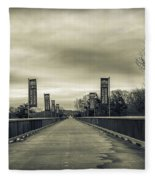 Walkway Over The Hudson Fleece Blanket