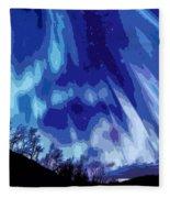 Watcher Of The Skies Fleece Blanket