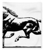 Weathervane, 19th Century Fleece Blanket