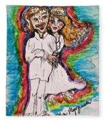 Wedding Day Fleece Blanket