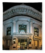Wells Fargo Bank Building In San Francisco, California Fleece Blanket