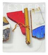 Western Fleece Blanket