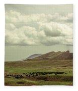 Western Storm Fleece Blanket