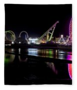 Wildwood New Jersey Fleece Blanket