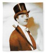 William Powell, Hollywood Legend Fleece Blanket