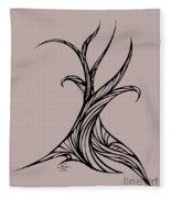 Willow Curve Fleece Blanket