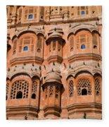 Wind Palace - Jaipur Fleece Blanket