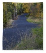 Winding Road Fleece Blanket