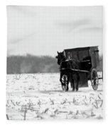 Winter Buggy Fleece Blanket