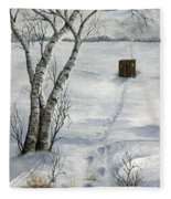 Winter Splendor Fleece Blanket