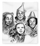 Wizard Of Oz Fleece Blanket