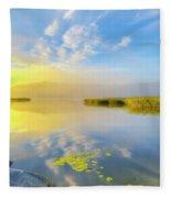 Wonderful Morning Fleece Blanket