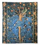 Woodpecker Tapestry Fleece Blanket