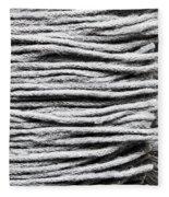 Wool Scarf Fleece Blanket