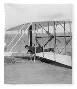 Wright Brothers Glider Fleece Blanket