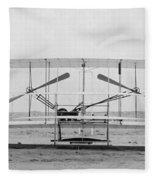 Wright Brothers Fleece Blanket
