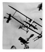Wwi: Dogfight Fleece Blanket