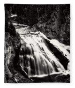 Yellowstone's Gibbon Falls Fleece Blanket