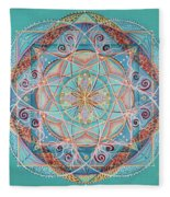 Yogi By The Sea Fleece Blanket