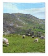 Yorkshire Dales - England Fleece Blanket