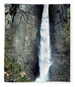 Yosemite Bridal Veil Falls Fleece Blanket