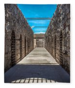 Yuma Territorial Prison Fleece Blanket