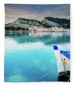 Zaante Town, Zakinthos Greece Fleece Blanket