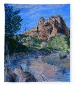 Zion National Park Fleece Blanket