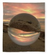 10-27-16--1914 Don't Drop The Crystal Ball, Crystal Ball Photography Fleece Blanket