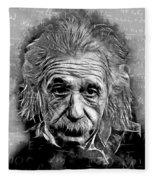 Albert Einstein Fleece Blanket