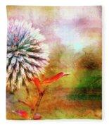 American Beach Cottage Art And Feelings Fleece Blanket