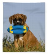 Boxer Puppy Fleece Blanket