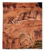 Canyon De Chelly Fleece Blanket