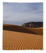 Coral Pink Sand Dunes Fleece Blanket